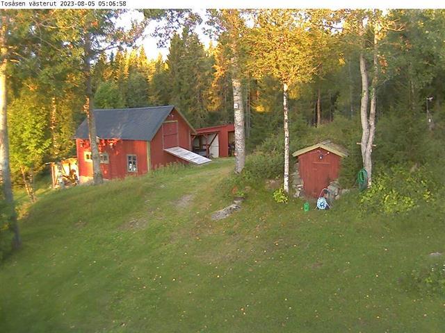Webcam Tosåsen, Berg, Jämtland, Schweden